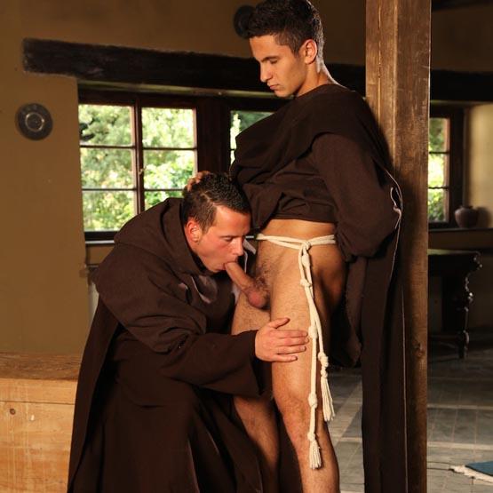 монахи-геи порно